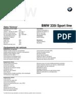 Ficha técnica BMW 335i Sport line.pdf