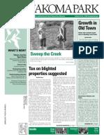 Takoma Park Newsletter - November 2014