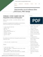 Debian_ Como saber sin un paquete esta instalado _ Flossblog.pdf