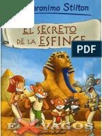 Stilton Geronimo - El Secreto de La Esfinge