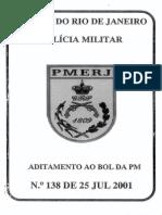 Adit 138 25 Jul 2001 Imcorporação