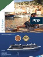 Celebrity Cruises Europa 2014-2015