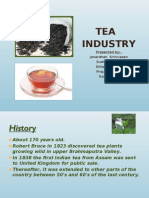 Project report on Tea Industry