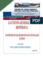 Instrumento de Rendición de Cuentas Del Estado - Camilo Pacheco