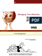 Managing Time Effectively_WNS