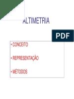 9 -ALTIMETRIA