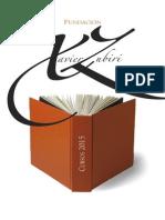 Cursos de la Fundación Xavier Zubiri para 2015
