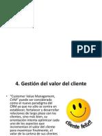 Gestion Valor Cliente