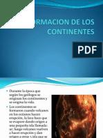 Formacion de los Continentes Capitulo 2 Noveno Grado.pptx