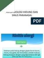 Patofisiologi Hidung Dan Sinus Paranasal
