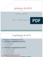 legislação do SUS