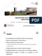 Electrical Urban Mass Transport - Rev FINAL - I PART