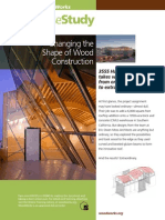 Changing the Shape of Wood Construction - Case Study