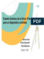Analisis Quimico de La Orina