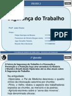 T2 SegurançaDoTrabalho Francisco Felipe Iago Ricardo