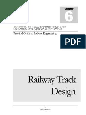 Chapter_6 - Railway Track Design | Rail Transport | Track (Rail