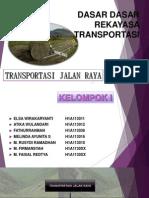 Dasar Dasar Rekayasa Transportasi