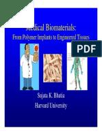Lecture 1 - Biomaterials