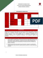 Programa Curso Cálculo 2 UA 2014