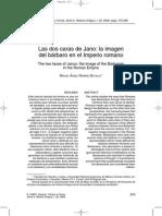 Ramírez Batalla, Miguel Ángel. Las Dos Caras de Jano, La Imagen Del Bárbaro en El Imperio Romano.