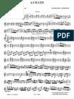 Enescu Aubade string trio parts