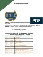 ASUETOS BANCARIOS EN GUATEMALA