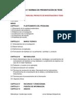 Estructura Propuesta Para Ingenieria