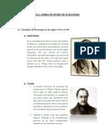Conceptos y Campos de Estudio de La Sociología