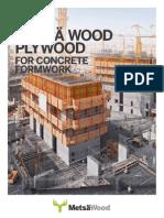 MetsaWood Concrete Formwork