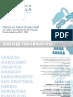 2da Edicion Master en Salud Ocupacional Universidad de Alcala Vzla