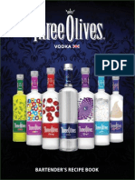 Three Olives Cocktail Recipe Book