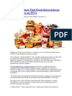 Comer Fast-Food Deixa Marcas Permanentes No DNA