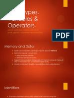 03 Data Types, Variables & Operators