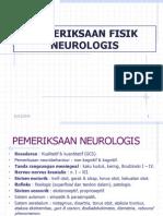 PEMERIKSAAN FISIK NEUROLOGIS1