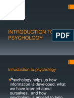 4 introduction to psychology