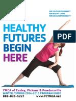 YMCA Program Guide Summer Fall/Winter 2014-2015