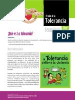 Tolerancia Secundaria Octubre 2009