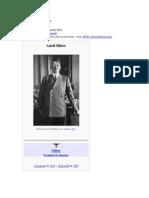 osicopatologia Adolf Hitler