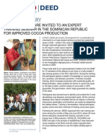 Success Story DEED - Cocoa Training