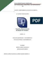 Mapas Conceptuales  soporte y mantenimiento