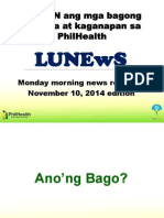 Philhealth November Updates