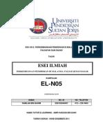 KPF3012_Esei Ilmiah