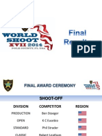 WSXVII 2014 IPSC World Shoot Results
