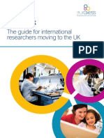 The Guide for International Researchers Moving to the UK