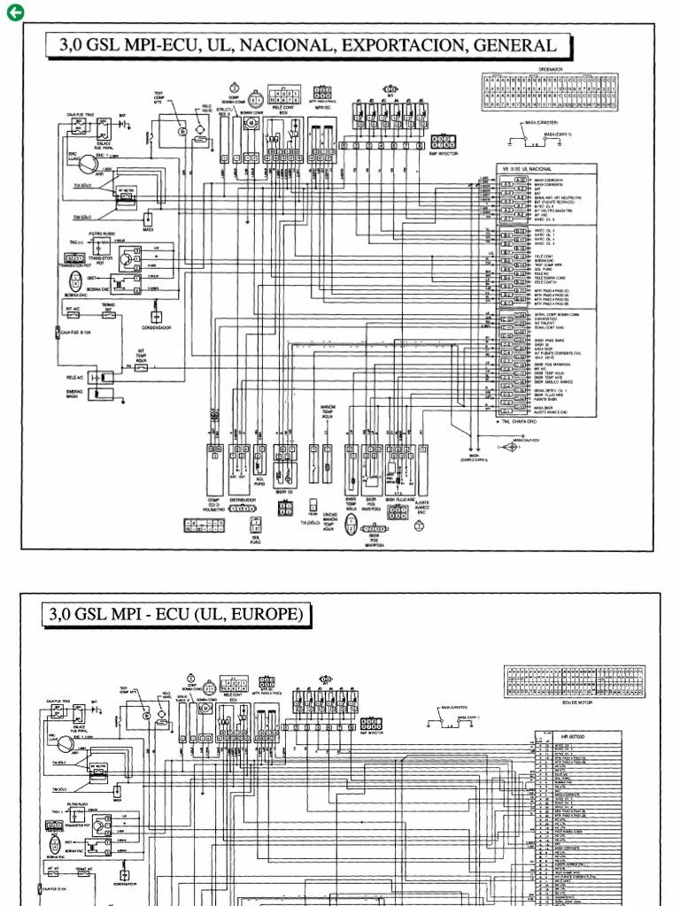 90-DIAGR Manual Hyundai Galloper | Hyundai Galloper Wiring Diagram |  | Scribd