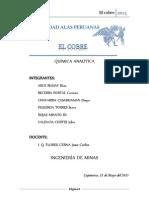 Informe Seminario El Cobre - Química Analítica