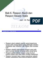 6. Respon Alami Dan Steady State