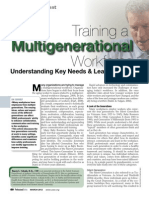 Training a Multigenerational Workforce