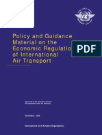 9587_cons_en Policy and Guidance Material on the Economic Regulation of International Air Transport