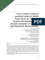 Suárez I. Et Al - Voces Contra El Silencio, Memoria Contra El Olvido